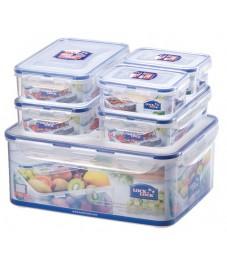 Lock & Lock: 6-Piece Container Set (HPL836SB)