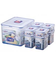 LocknLock: 8-Piece Set Containers (HPL838SA)