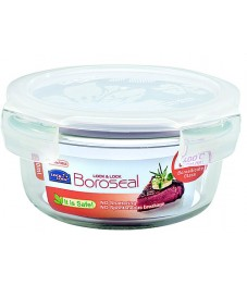Lock & Lock: Container Boroseal Round 380 ml (LLG821A)