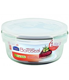 Lock & Lock: Container Boroseal Round 650 ml (LLG831A)