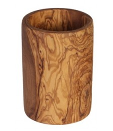 Cooking Utensil Holder Olive Wood