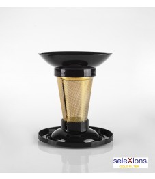 Selexions: Gold Tea-Cup-Filter
