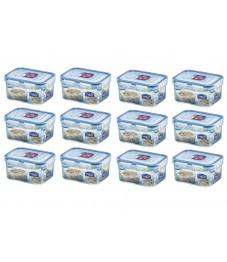 Lock & Lock: 12 x Container Rectangular 470 ml (HPL807/6)
