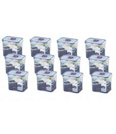 Lock & Lock: 12 x Container Rectangular 850 ml (HPL808/12)