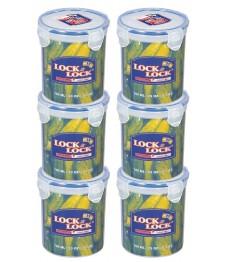 Lock & Lock: 6x Dose rund 700 ml (HPL932D/6)