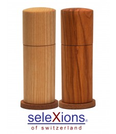 Selexions: Set Salzmühle Esche und Pfeffermühle Olivenholz